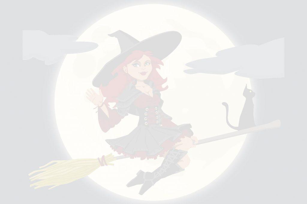 Dessin de sorcière